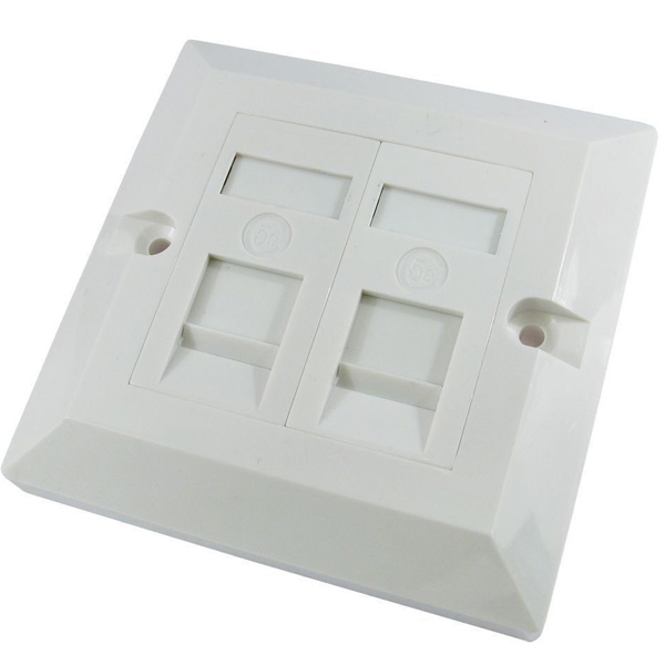 Wall outlet & faceplate