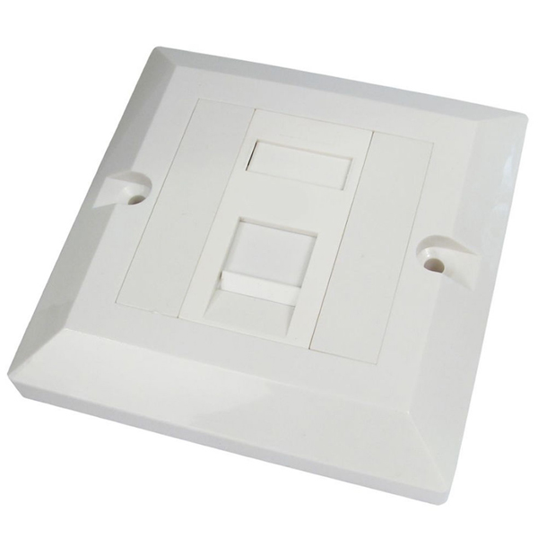 CAT6 Single Port Socket RJ45 Wall Face Plate