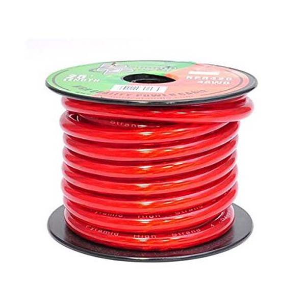 4 Gauge power cable 25ft