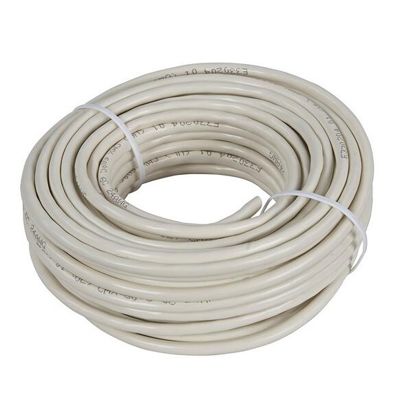 6C round telephone cable