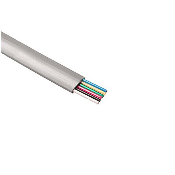 6-Conductor Modular Telephone Cable Flat