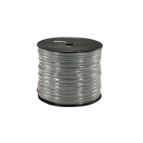 1000 Ft 8 Conductor Silver Satin Modular Cable Reel 28AWG