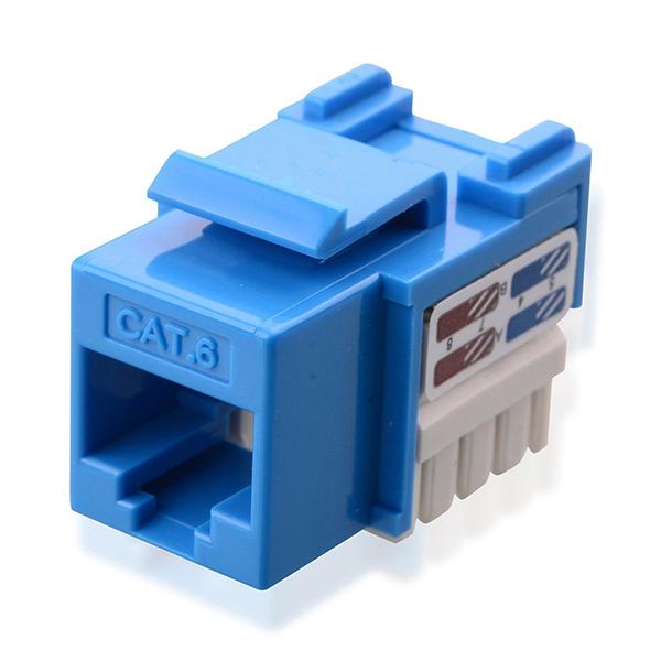 snap in RJ45 keystone coupler